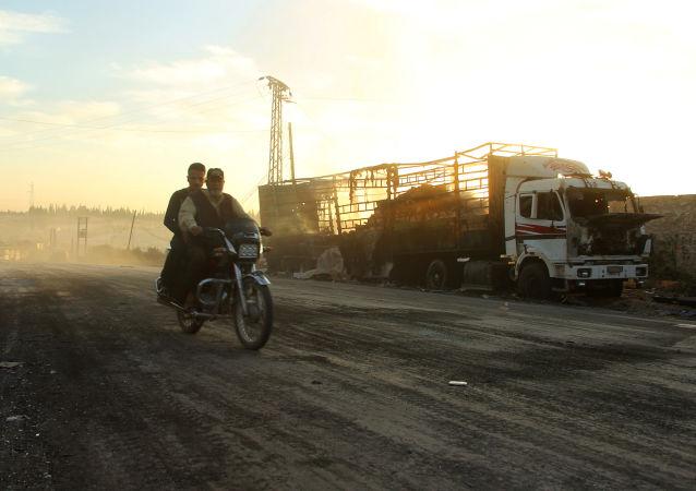 俄外交部称指责俄炮击人道车队是为掩饰联军的错误