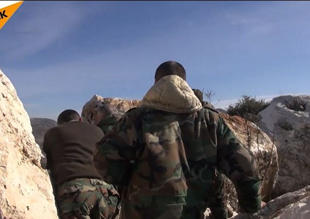 视频:叙武装分子正式停战前破坏停火机制