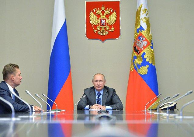 普京启动亚马尔-涅涅茨自治区东梅索亚哈斯基产地工业运行