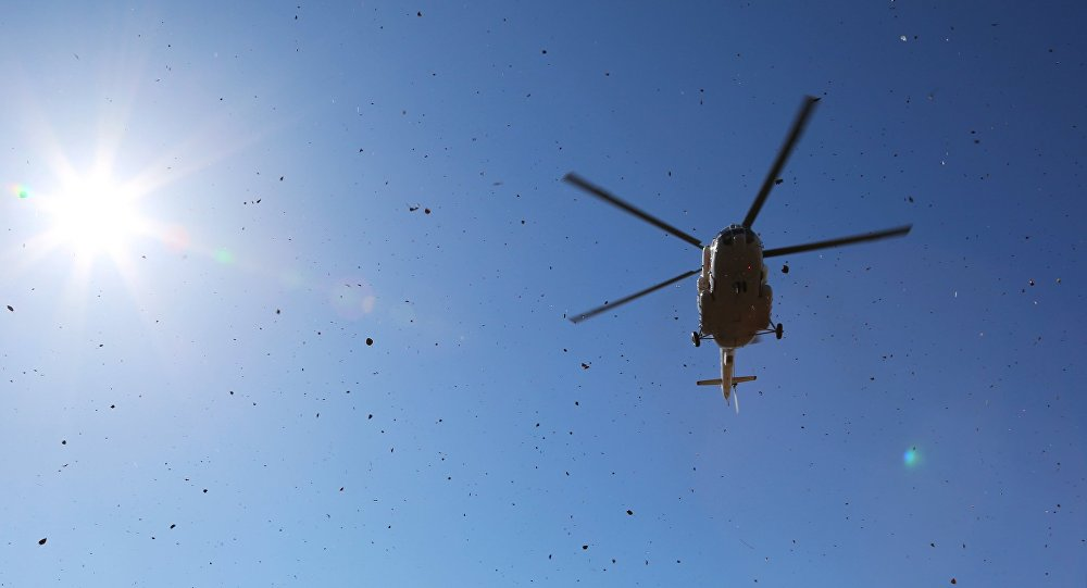 俄緊急情況部米-8直升機在莫斯科州墜毀