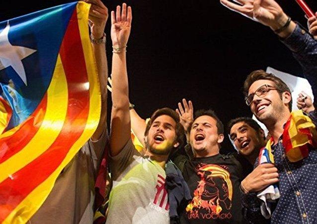 超过75%的加泰罗尼亚居民赞成进行关于独立的公投