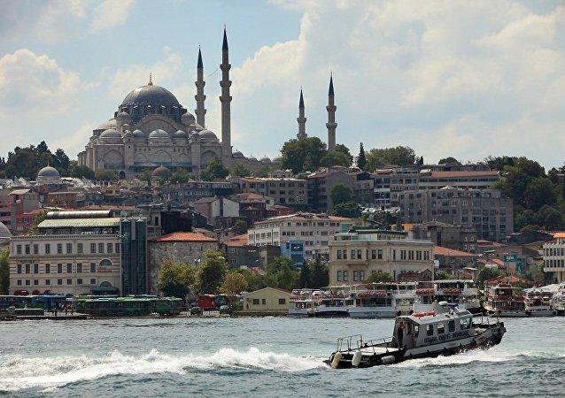 """执法人员在伊斯坦布尔开展突击行动抓捕80多名疑似""""伊斯兰国""""成员"""