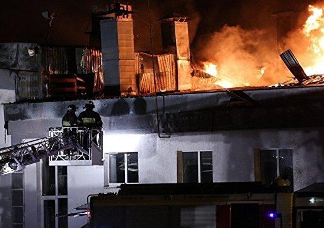 俄紧急情况部:莫斯科东部仓库的火灾已被扑灭