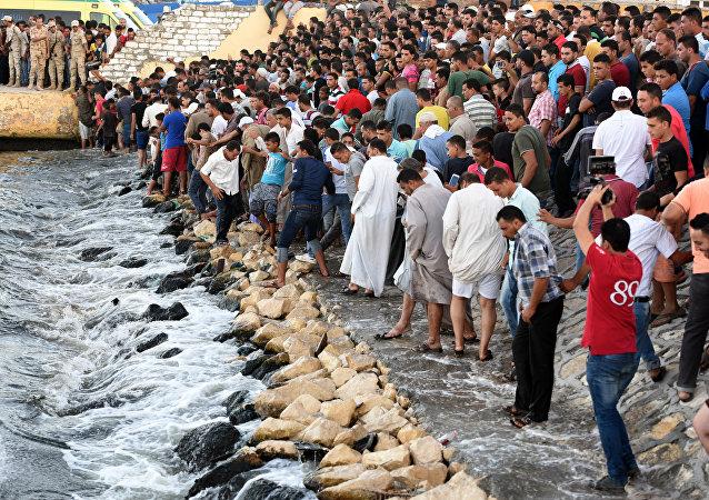 在埃及沿岸的海难已经造成超过160人死亡