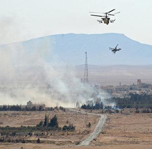 专家:俄罗斯空天部队的行动迫使美国更严肃对待叙利亚问题