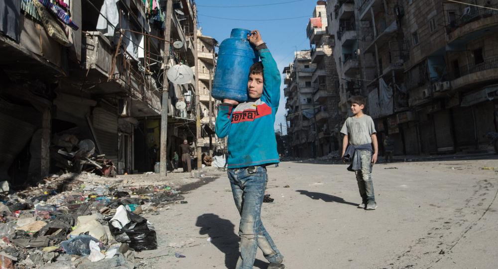 联合国儿童基金会:约200万阿勒颇市民因战争无水可喝