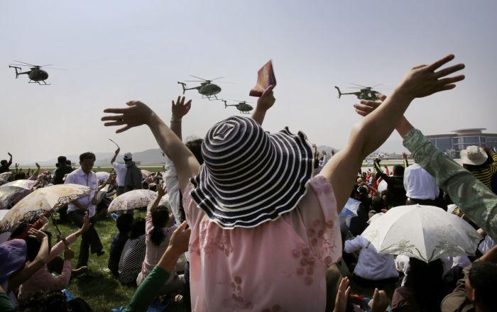 朝鮮舉辦首屆航展