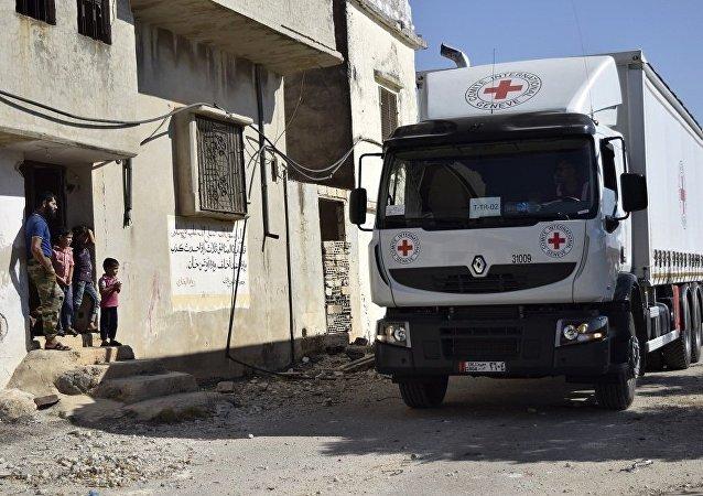 俄外交官:不能保持向敘利亞跨境運輸人道物資的機制