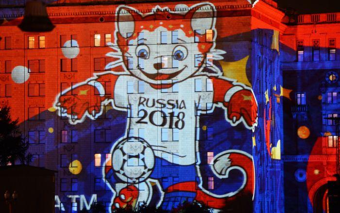 莫斯科國際「光環」藝術節最酷炫投影造型