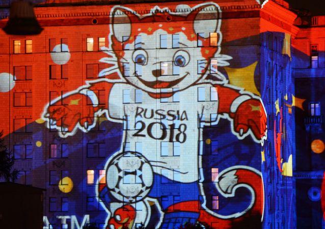 """莫斯科国际""""光环""""艺术节最酷炫投影造型"""