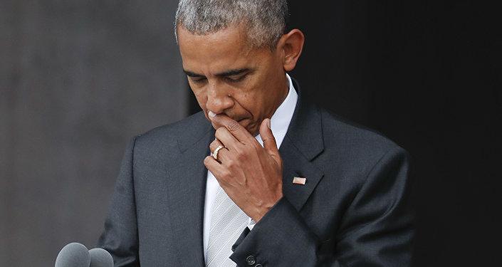 美国白宫:奥巴马暂时没有决定是否签署参议员的对俄制裁法案