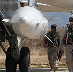 俄飛行員在敘總能「咬尾」以美國為首的國際聯軍飛機