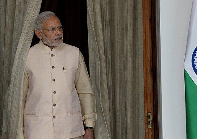印度总理莫迪被《时代》周刊评为年度风云人物