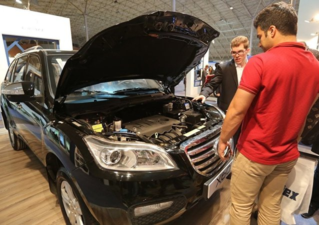 中国汽车在俄销售11个月来首次出现增长
