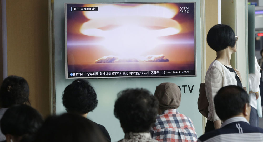 媒体:美防长称朝鲜加强了核武器研发