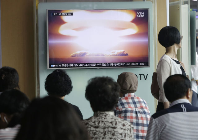 朝鲜核武器试验