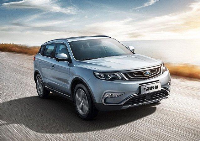 中国吉利集团在俄罗斯召回400辆帝豪EC7汽车