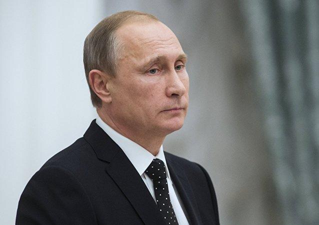 普京指出佩雷斯对稳定中东局势的贡献