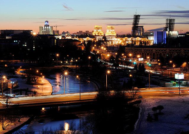白俄罗斯首都明斯克