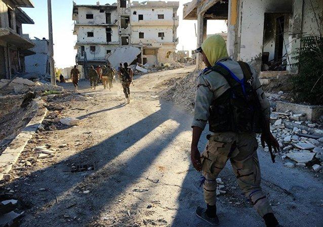 俄外交部:俄将像对待恐怖分子一样对待拒绝离开阿勒颇的武装分子