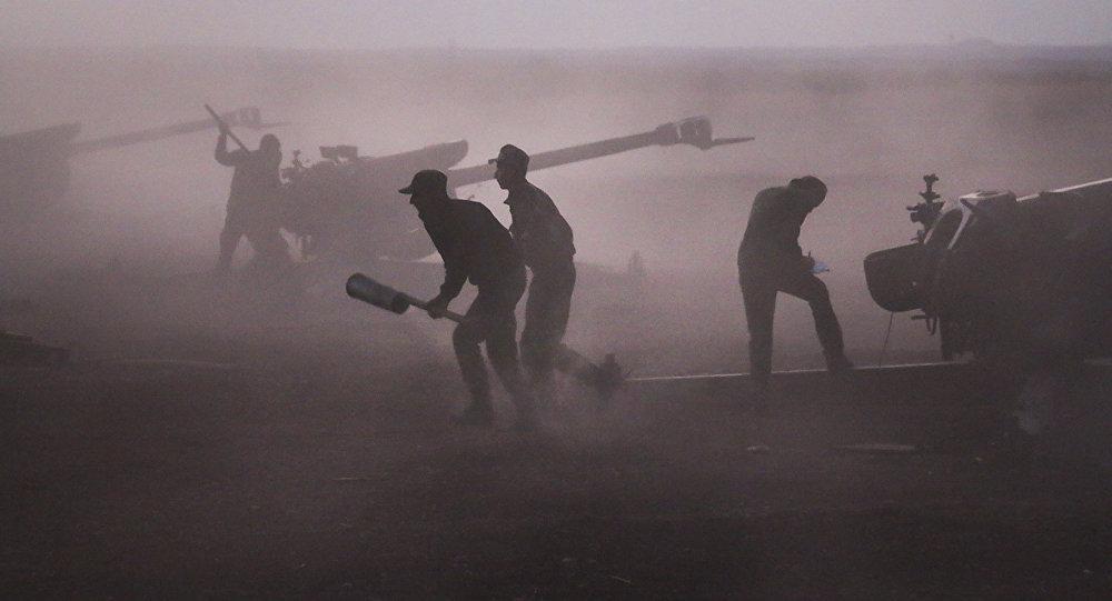 叙驻俄大使:恐怖组织在以色列与国际联军飞机掩护下进攻代尔祖尔省