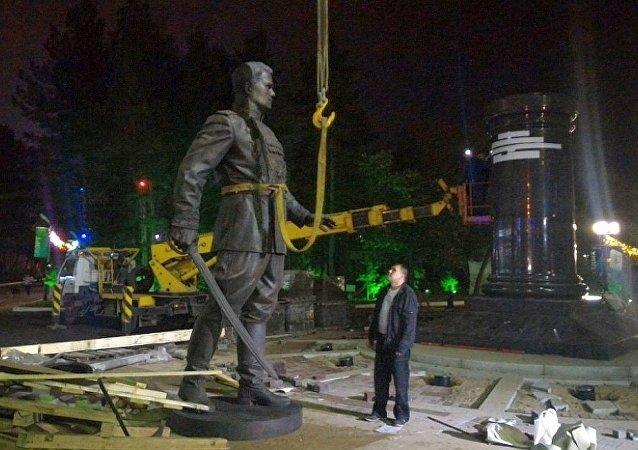 华西列夫斯基元帅纪念雕像将在哈巴罗夫斯克揭幕