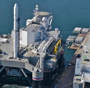 """""""海上发射""""(Sea Launch)浮动发射平台"""
