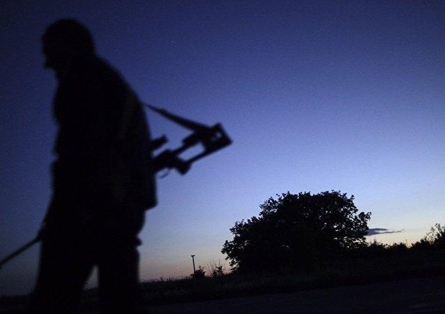 卢甘斯克警察部队卡利诺夫卡市郊击退乌军进攻