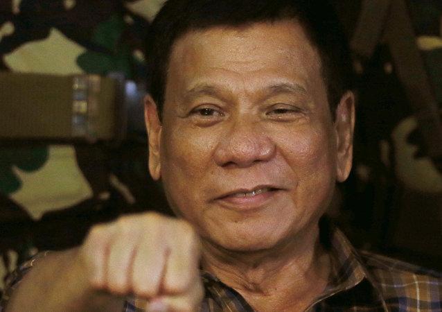 菲律宾总统罗德里戈•杜特地