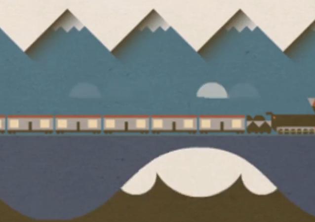谷歌公司为西伯利亚大铁路全线贯通100周年制作大型动画片