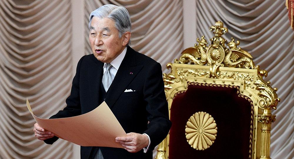 天皇生前传位法案明年将提交日本国会审议