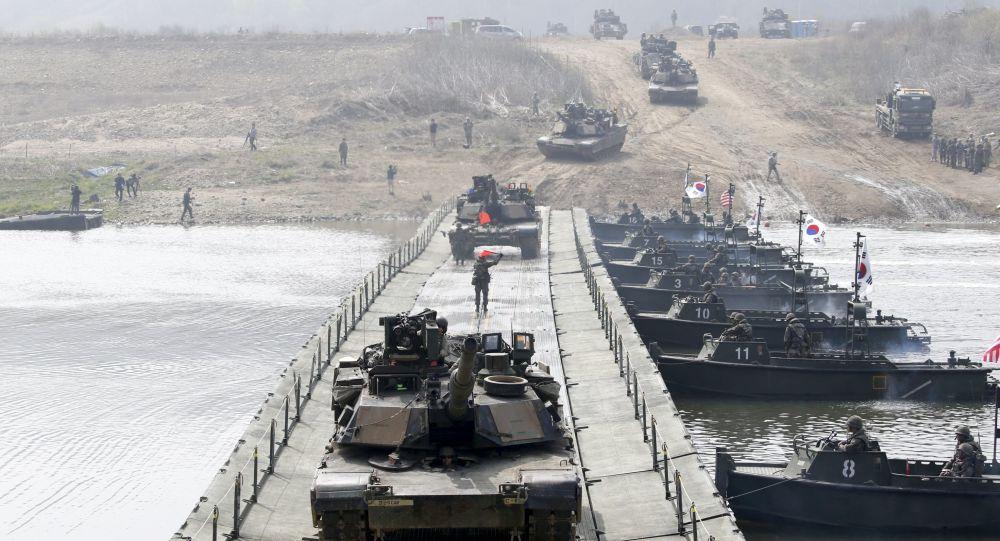 美国防部:美韩商定停止两个系列军事演习