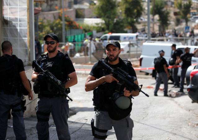 两名以色列边防军人在耶路撒冷的袭击中受伤