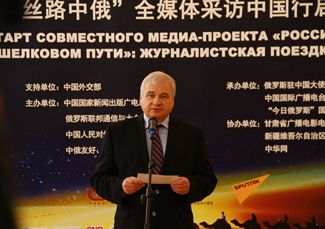 俄羅斯特命全權駐華大使安德烈·傑尼索夫