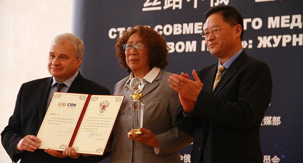 范冰冰:让中俄两国关系更加紧密的热切心愿将我们汇聚在一起