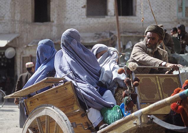 一个阿富汗家庭