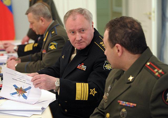 俄罗斯海军总司令弗拉基米尔•科罗廖夫