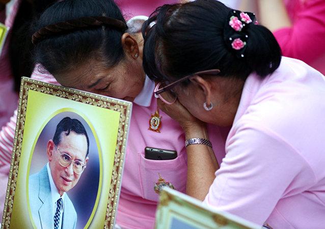 媒体:泰国国王去世 享年89岁
