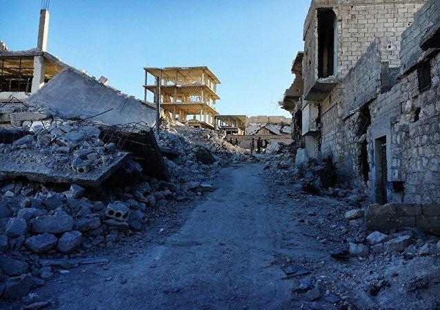 俄总参:无人机控制着为武装分子和居民撤离阿勒颇开设的通道