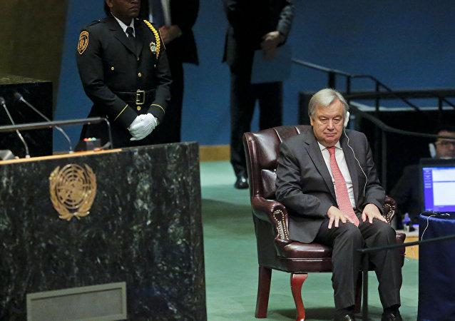 联大批准葡萄牙前总理古铁雷斯出任下一届联合国秘书长