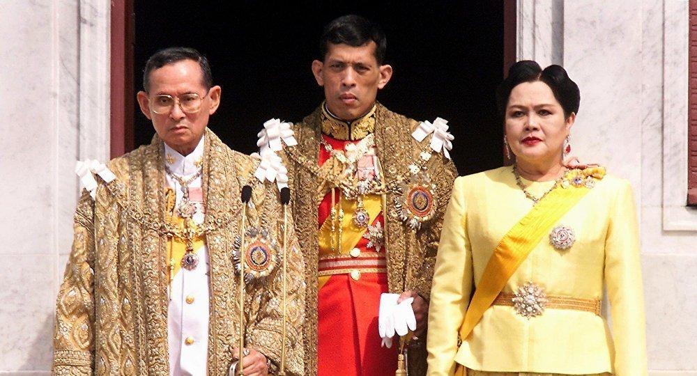 泰国,皇族一家