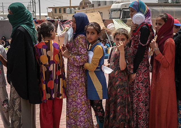 国际移民组织将在摩苏尔建造临时难民营安置20万人