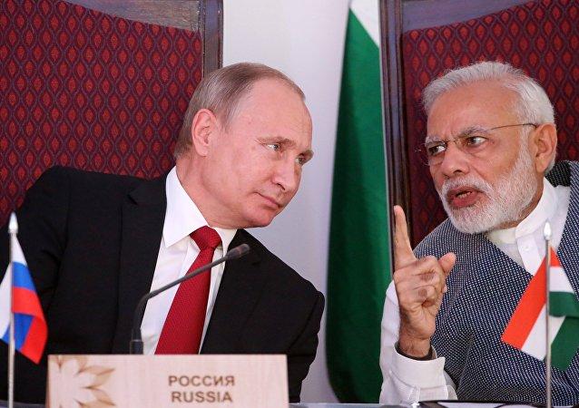 俄罗斯与印度呼吁实施关于恐怖主义的一揽子协定
