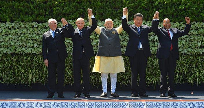 专家:果阿峰会为金砖国家注入新动力