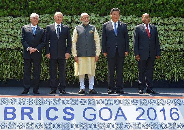 金砖宣言:金砖国家承认杭州G20峰会作用