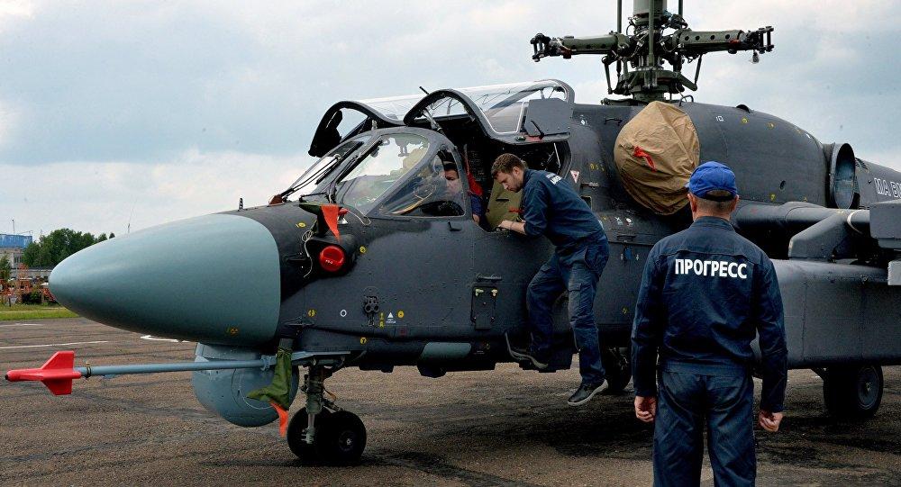 """卡-52K""""角鲨""""海上直升机"""