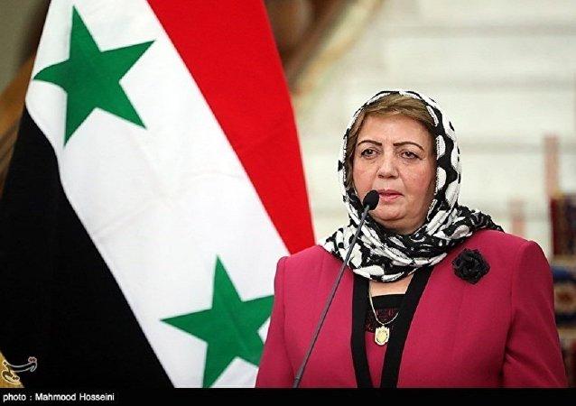 叙利亚人民议会议长哈迪耶·阿巴斯