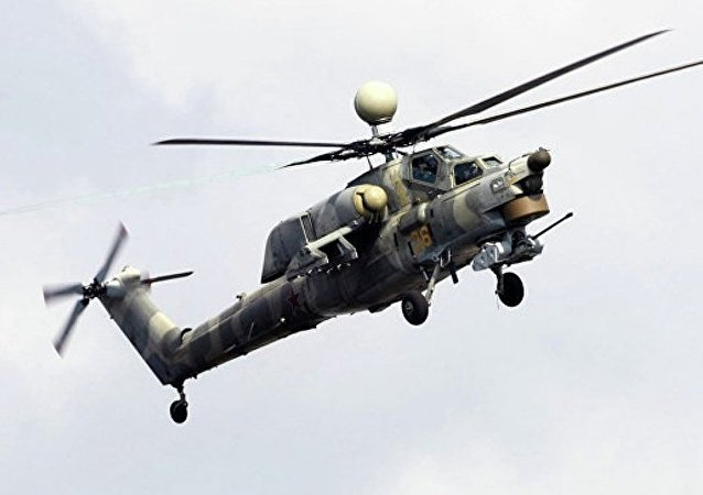 俄军事技术合作局:俄已完成向伊拉克提供米-28NE直升机合同
