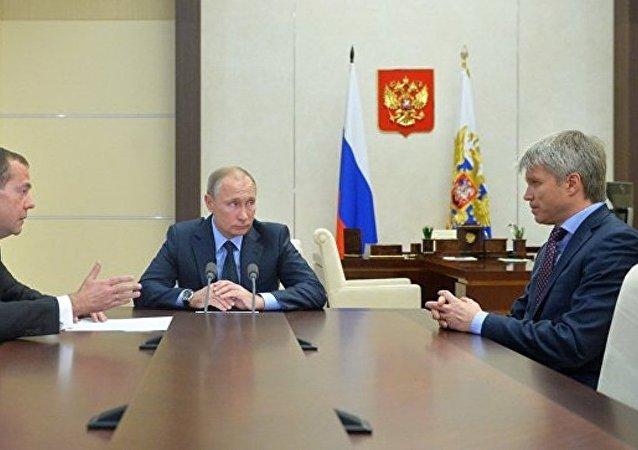 普京任命前体育部长穆特科为副总理