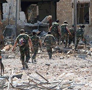民兵表示,叙利亚军队控制了阿勒颇南部的战略高地Bazza
